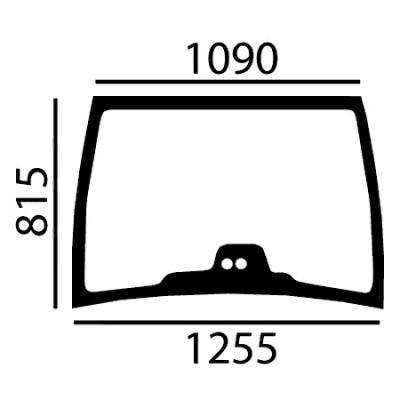 Szyba przednia Fendt Seria 900 Vario TMS